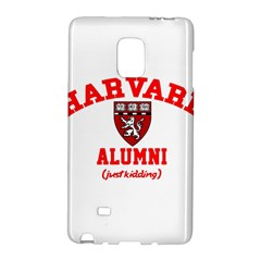 Harvard Alumni Just Kidding Galaxy Note Edge by Celenk