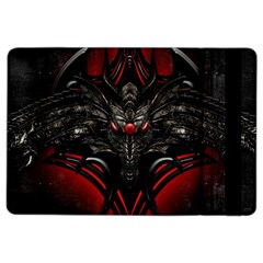 Black Dragon Grunge Ipad Air 2 Flip by Celenk