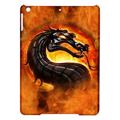 Dragon And Fire Ipad Air Hardshell Cases by Celenk
