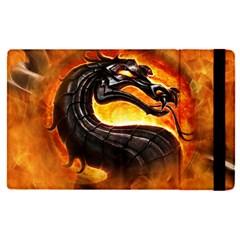 Dragon And Fire Apple Ipad Pro 9 7   Flip Case by Celenk