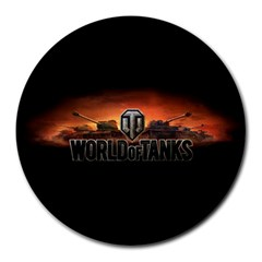 World Of Tanks Round Mousepads