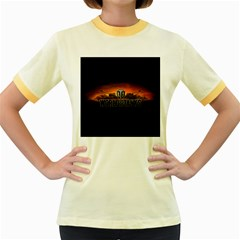 World Of Tanks Women s Fitted Ringer T Shirts