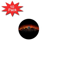 World Of Tanks 1  Mini Buttons (10 Pack)