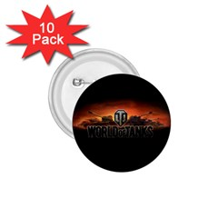 World Of Tanks 1 75  Buttons (10 Pack)