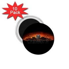 World Of Tanks 1 75  Magnets (10 Pack)  by Celenk