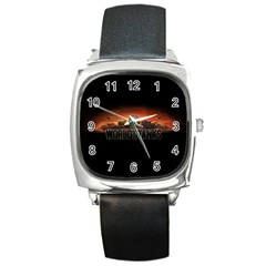 World Of Tanks Square Metal Watch by Celenk