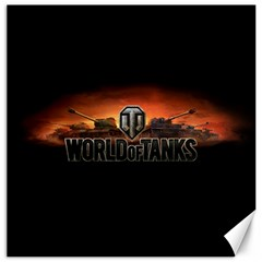 World Of Tanks Canvas 12  X 12   by Celenk