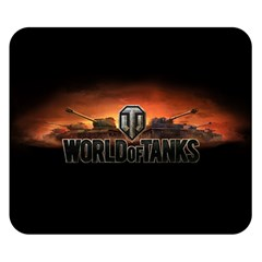 World Of Tanks Double Sided Flano Blanket (small)  by Celenk