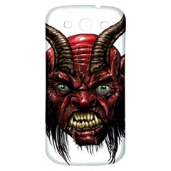 Krampus Devil Face Samsung Galaxy S3 S Iii Classic Hardshell Back Case