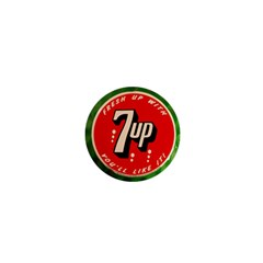 Fresh Up With  7 Up Bottle Cap Tin Metal 1  Mini Magnets by Celenk