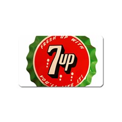 Fresh Up With  7 Up Bottle Cap Tin Metal Magnet (name Card) by Celenk
