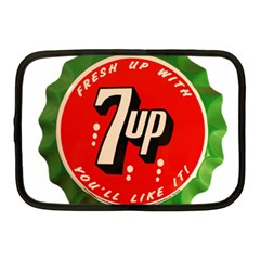 Fresh Up With  7 Up Bottle Cap Tin Metal Netbook Case (medium)  by Celenk