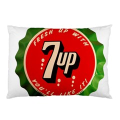 Fresh Up With  7 Up Bottle Cap Tin Metal Pillow Case (two Sides) by Celenk