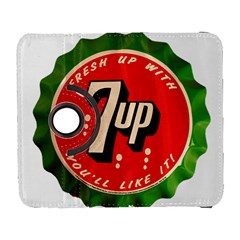 Fresh Up With  7 Up Bottle Cap Tin Metal Galaxy S3 (flip/folio) by Celenk
