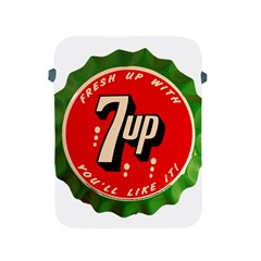 Fresh Up With  7 Up Bottle Cap Tin Metal Apple Ipad 2/3/4 Protective Soft Cases by Celenk