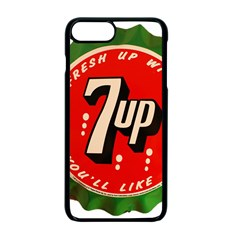 Fresh Up With  7 Up Bottle Cap Tin Metal Apple Iphone 7 Plus Seamless Case (black) by Celenk
