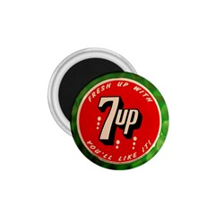 Fresh Up With  7 Up Bottle Cap Tin Metal 1 75  Magnets by Celenk