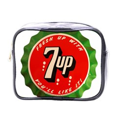 Fresh Up With  7 Up Bottle Cap Tin Metal Mini Toiletries Bags by Celenk