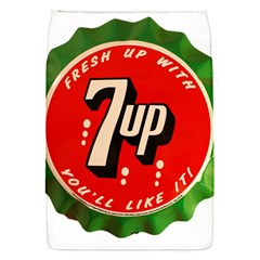 Fresh Up With  7 Up Bottle Cap Tin Metal Flap Covers (s)  by Celenk
