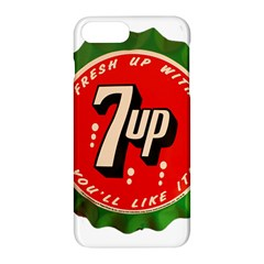 Fresh Up With  7 Up Bottle Cap Tin Metal Apple Iphone 7 Plus Hardshell Case by Celenk