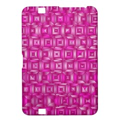 Classic Blocks,pink Kindle Fire Hd 8 9  by MoreColorsinLife
