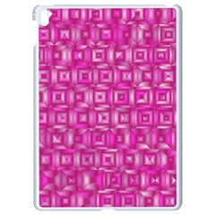 Classic Blocks,pink Apple Ipad Pro 9 7   White Seamless Case by MoreColorsinLife