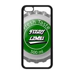 Fresh Taste Fizzy Lime Bottle Cap Apple Iphone 5c Seamless Case (black) by Celenk