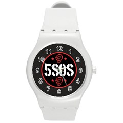 5sos 5 Seconds Of Summer Round Plastic Sport Watch (m) by Celenk