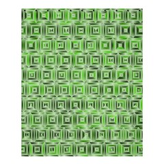 Classic Blocks,green Shower Curtain 60  X 72  (medium)  by MoreColorsinLife