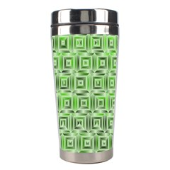 Classic Blocks,green Stainless Steel Travel Tumblers by MoreColorsinLife