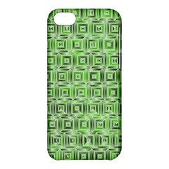 Classic Blocks,green Apple Iphone 5c Hardshell Case by MoreColorsinLife