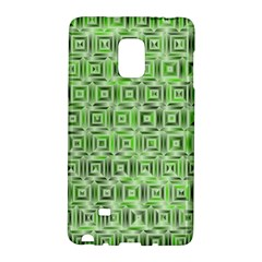 Classic Blocks,green Galaxy Note Edge by MoreColorsinLife