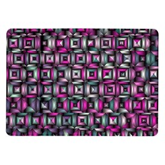 Classic Blocks,pink Combo Samsung Galaxy Tab 10 1  P7500 Flip Case by MoreColorsinLife