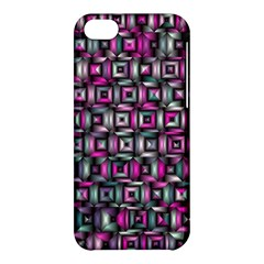Classic Blocks,pink Combo Apple Iphone 5c Hardshell Case by MoreColorsinLife
