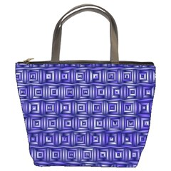 Classic Blocks,blue Bucket Bags by MoreColorsinLife