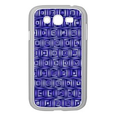 Classic Blocks,blue Samsung Galaxy Grand Duos I9082 Case (white) by MoreColorsinLife