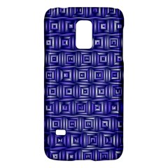 Classic Blocks,blue Galaxy S5 Mini by MoreColorsinLife