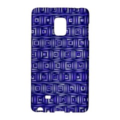 Classic Blocks,blue Galaxy Note Edge by MoreColorsinLife