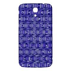 Classic Blocks,blue Samsung Galaxy Mega I9200 Hardshell Back Case by MoreColorsinLife