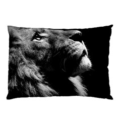 Male Lion Face Pillow Case (two Sides) by Celenk