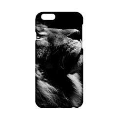 Male Lion Face Apple Iphone 6/6s Hardshell Case by Celenk