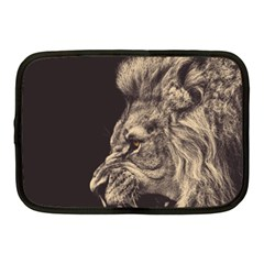 Angry Male Lion Netbook Case (medium)  by Celenk