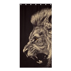 Angry Male Lion Shower Curtain 36  X 72  (stall)  by Celenk