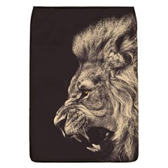 Angry Male Lion Flap Covers (l)  by Celenk