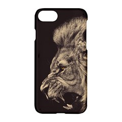 Angry Male Lion Apple Iphone 8 Hardshell Case by Celenk