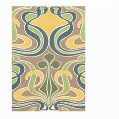 Art Floral Large Garden Flag (two Sides) by 8fugoso