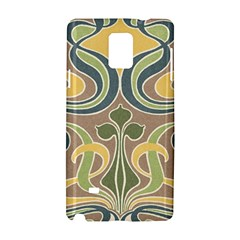 Art Floral Samsung Galaxy Note 4 Hardshell Case by 8fugoso