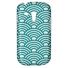 Art Deco Teal Galaxy S3 Mini by 8fugoso