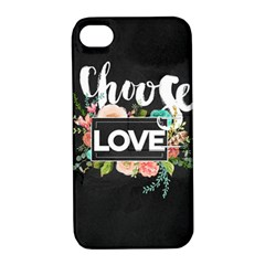 Love Apple Iphone 4/4s Hardshell Case With Stand by 8fugoso