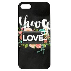 Love Apple Iphone 5 Hardshell Case With Stand by 8fugoso